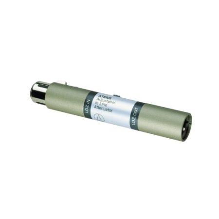 AUDIO-TECHNICA AT-AT8202 ÁLLÍTHATÓ IN-LINE JELCSILLAPÍTÓ (-10/-20/-30 dB)