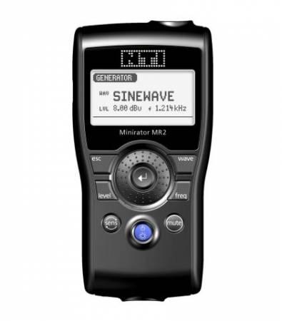NTI NT-MR2 NT-600000300 MINIRATOR KÉZI AUDIÓ ANALIZÁTOR