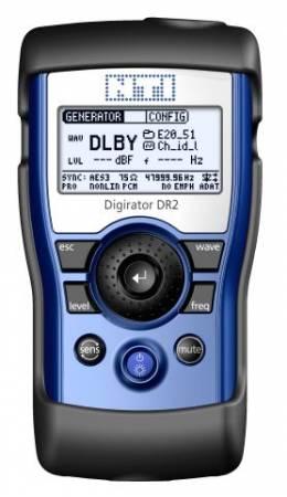 NTI NT-DR2 NT-600 000 320 DIGIRATOR KÉZI AUDIÓ ANALIZÁTOR