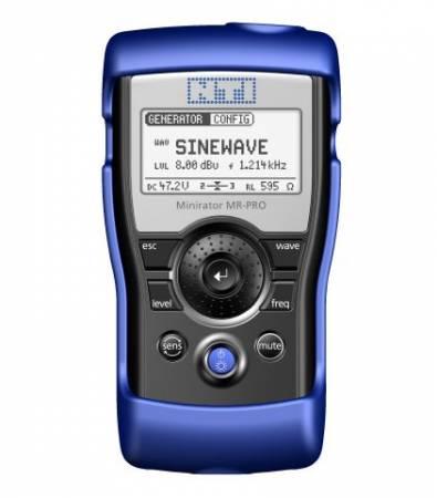NTI NT-MR-PRO NT-600000310 MINIRATOR KÉZI AUDIÓ ANALIZÁTOR